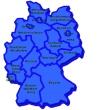 Deutschlandkarte - Bitte auf die Karte klicken um in den Immobilienmarkt zu gelangen