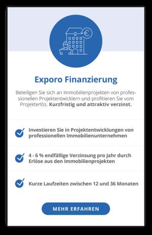 Exporo Finanzierung