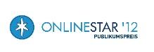 investinformer.de beim Onlinestar 2012 in der Kategorie Geld & Karriere